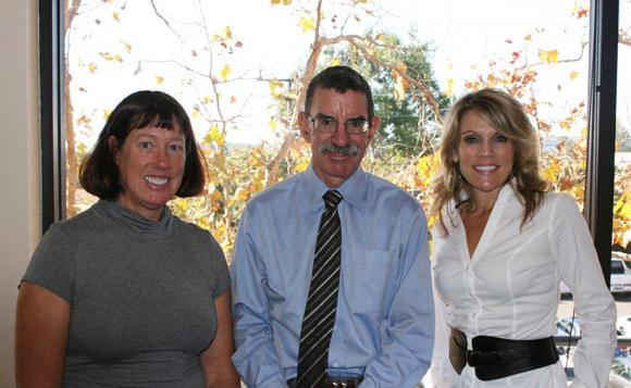 Andrea Halligan, William Halligan and Debbie Lira.