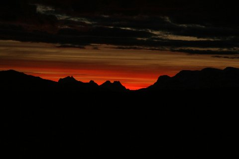 Sunset in Patagonia Christmas Eve 2012