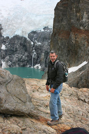 Here I am at the foot of Fitz Roy.
