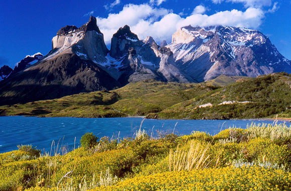 Cuernos del Paine in Torres del Paine National Park. Photo courtesy Miguel Vieira under a Creative Commons license.