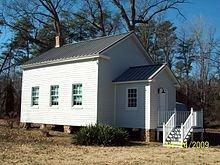 This is how Papoose Creek School looked when it was actually open.