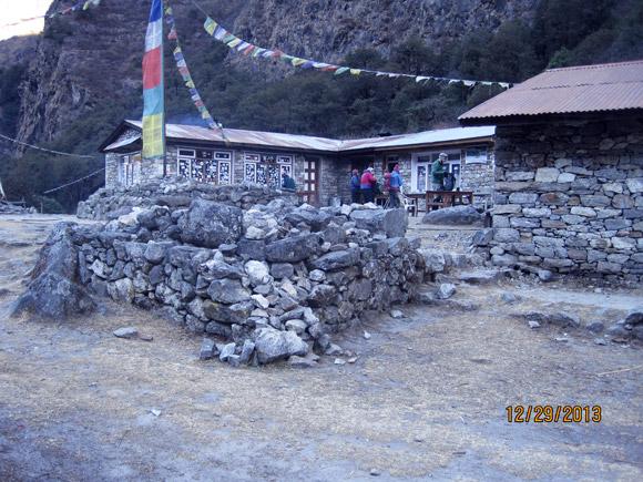 Teahouse, Lang Tang Valley.