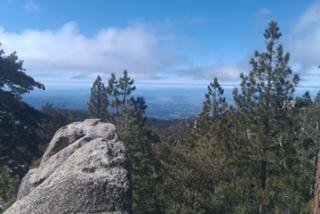 San Jacinto Mountains.